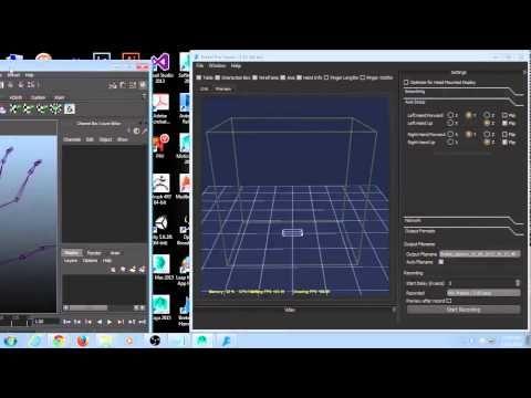 Using Brekel Pro Hands onto Mixamo Character Animation in Maya