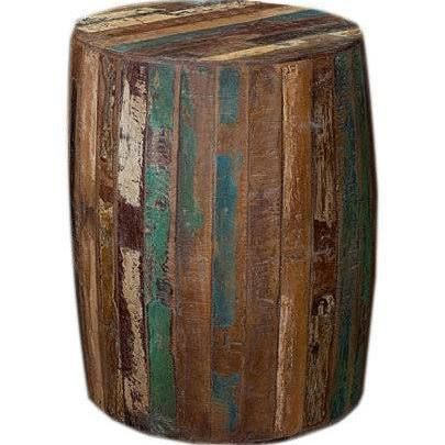 round side table reclaimed - Google Search