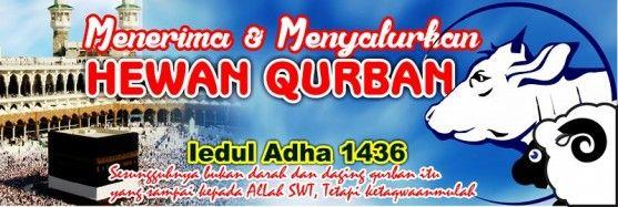 01 - Banner Spanduk Hari Raya Qurban Iedul Adha 1436 H 2015m