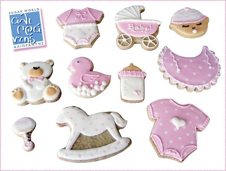 Σεμινάριο Μπισκότα Βάπτισης!  Πάρτε μέρος στο σεμινάριο δημιουργίας μπισκότων βάπτισης με αυγόγλασσο.  Θα διακοσμήσετε 10 μπισκότα με αυγόγλασσο με θέμα τη βάπτιση  • Συνταγή Μπισκότα • Συνταγή Pastillage • Παρασκευή Αυγόγλασσου, φτιάχνοντας τη σωστή σύσταση για γέμισμα & περίγραμμα • Χρωματισμός Αυγόγλασσου • Βασικές Τεχνικές Αυγόγλασσου: Flooding, Piping, Wet on Wet • Τεχνικές Κορνέ  Στο τέλος του μαθήματος θα φύγετε με τη δική σας δημιουργία έτσι όπως απεικονίζεται στη φωτογραφία