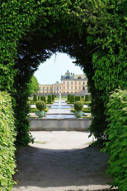 The Palace Park - Drottningholm Slott, Stockholm, Sweden