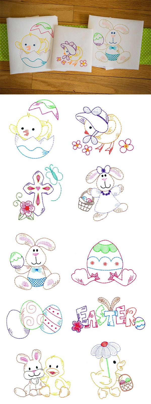 10 Simply Adorable Vintage Style Easter Designs Do You Love That Hand