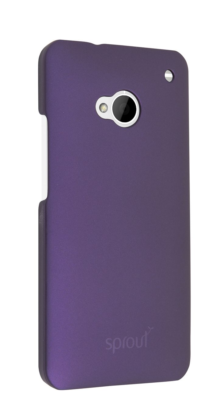 This case for the HTC One features unique dual rubber coating which adds an extra layer of sheen and durability to the case to ensure that your new phone will be looking great. Easy access to all buttons and ports, this is the case to have! #case #cover #htc #mobile #sprout #freedomtogrow #sproutinc #device #phone #smartphone #bestoftheday #purple #fun
