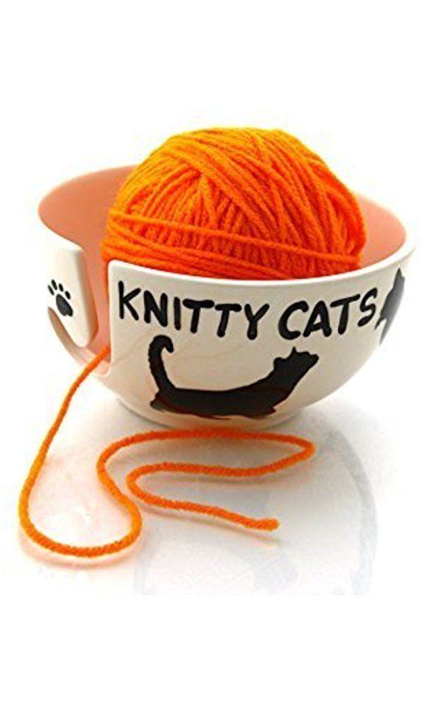 Knitty Cats Yarn Bowl Best Price