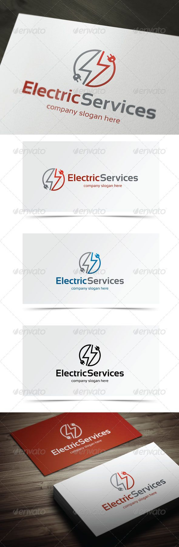 Electric Services  #energy #fire #fix • Available here → http://graphicriver.net/item/electric-services/5698659?s_rank=92&ref=pxcr