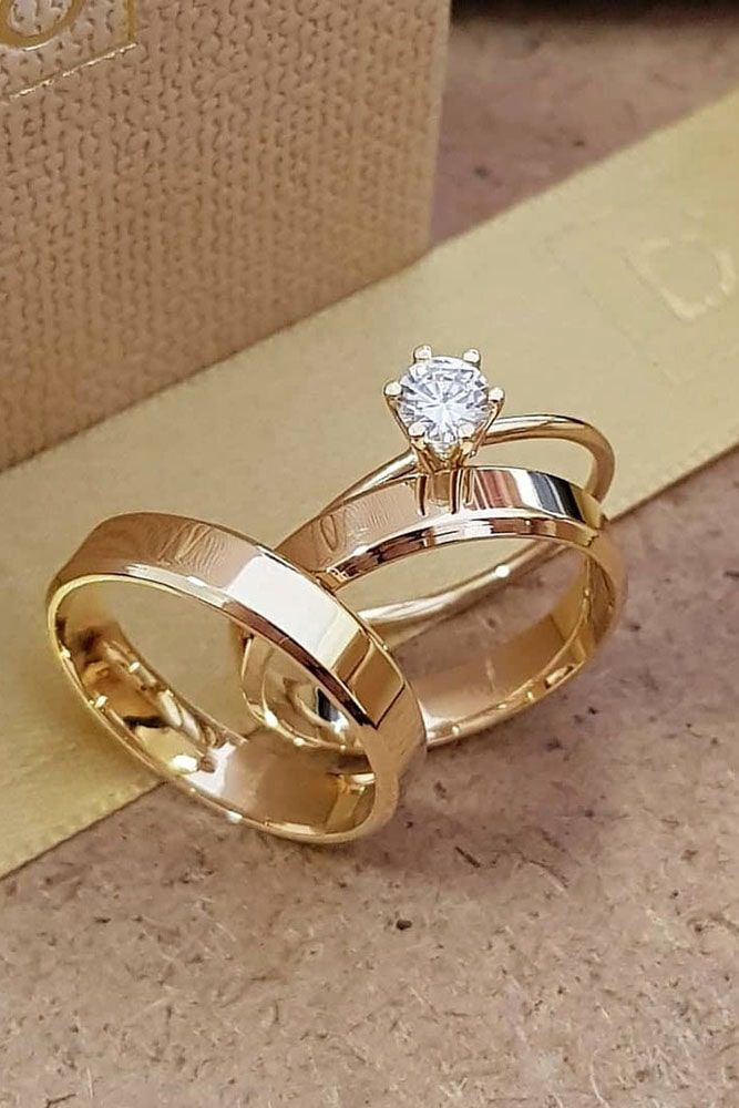 rose gold engagement rings solitaire round cut diamond classic