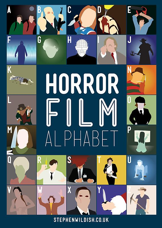 Horror Film Alphabet