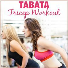 Tabata Tricep Workout