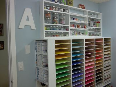 17 best images about craft room ideas on pinterest for Storage solutions for craft rooms