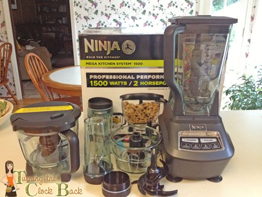 Many Uses of the Ninja Mega Kitchen System - Turning the Clock Back (ninja smoothie recipes drinks)
