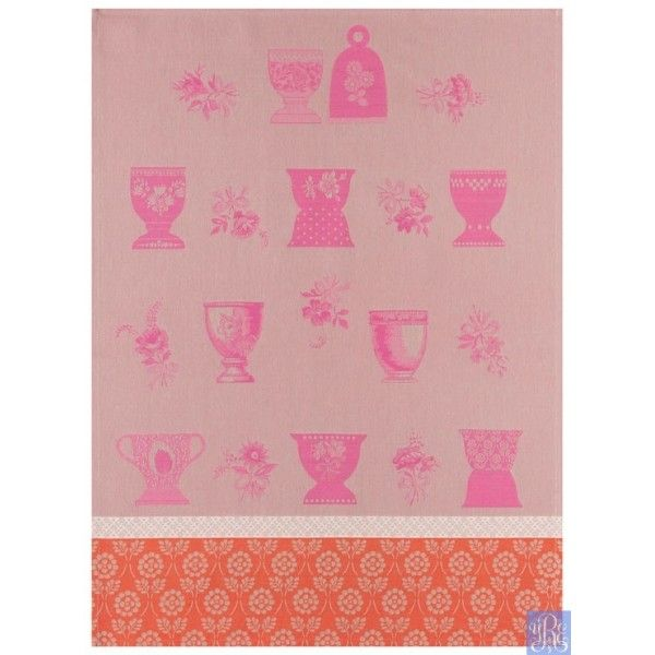 Le Jacquard Francais A La Coque Heather Towel · Kitchen LinensKitchen  TowelsFrench ...