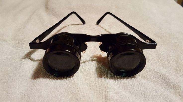 Vintage Binoculars Sportier Japan Coated 2.8 x 28 Opera Glasses. #Sportier