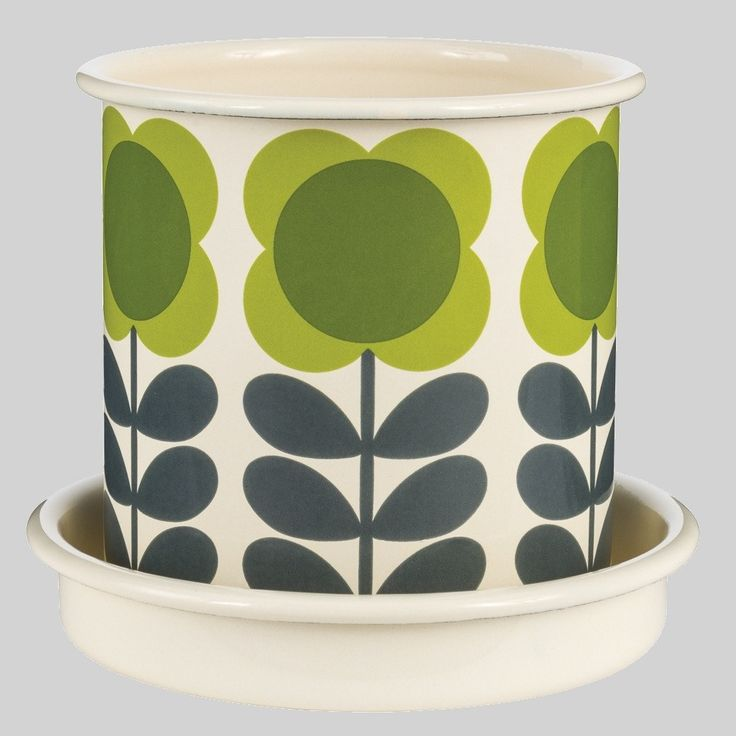 Orla Kiely Small Plant Pot Big Spot Flower  #birthday #quirky #shopping #sale #cool #mzube #gifts #cheap #presents #gift   http://www.mzube.co.uk