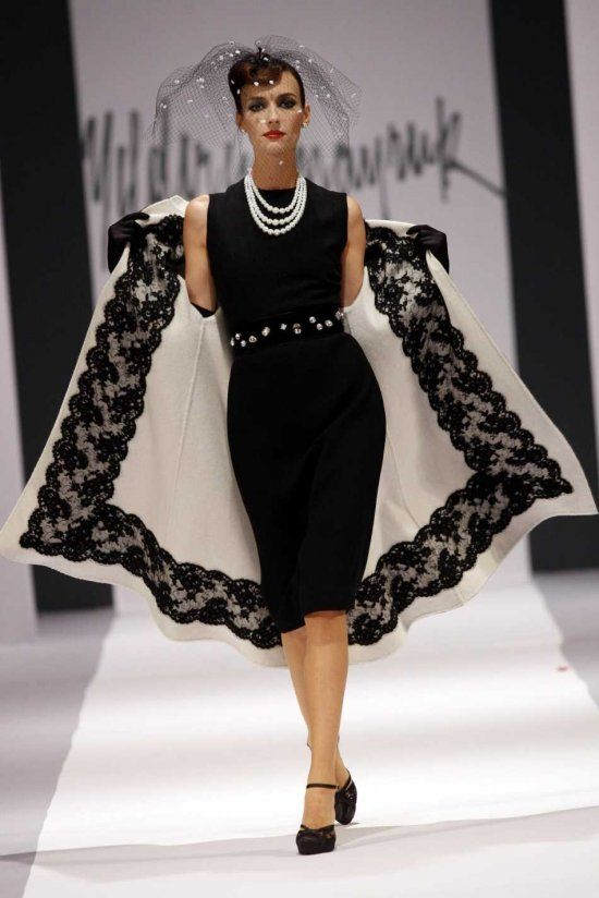 Turkish designer Yildirim Mayruk | Sorry not sure of the year but this is too fabulous not to pin! Very breakfast at tiffany but I love it :)