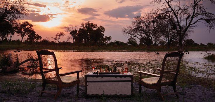 Where are you enjoying sundowners this evening? 📷: supplied #safari #sunset #inthebush #sundowners