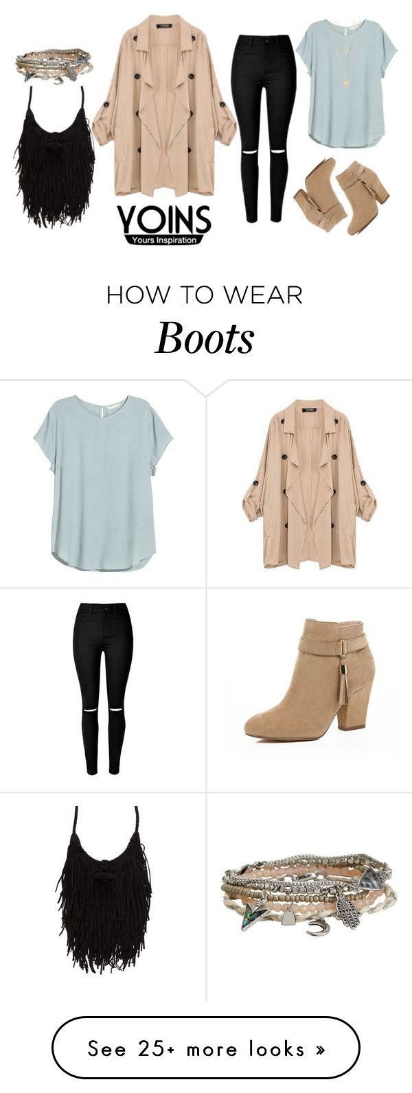 """♡ WIN YOINS KHAKI COAT OR $30 VOUCHER ♡"" by anisimova-i on Polyvore featuring H&M, River Island, Aéropostale, Forever 21, women's clothing, women, female, woman, misses and juniors"