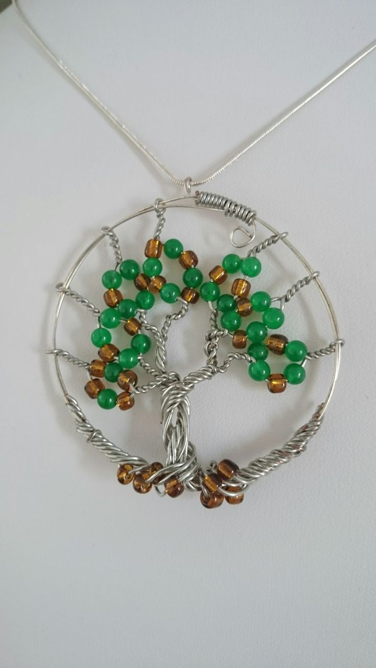 Tree of life  handcrafted pendant