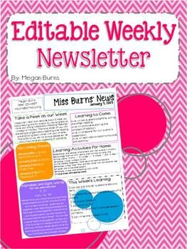 17 Best ideas about Newsletter Template Free on Pinterest | Parent ...
