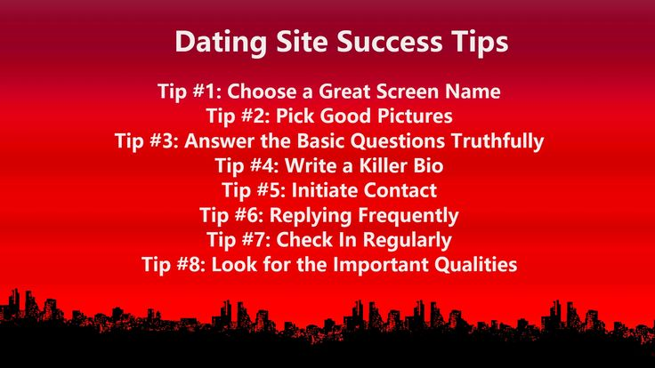 How to have success on dating sites
