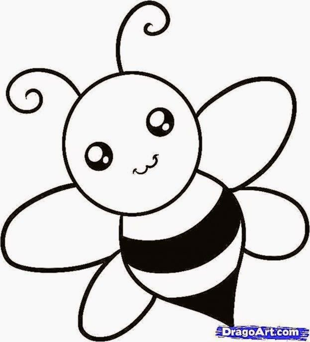drawing pictures for kids free coloring sheet - Cartoon Kids Drawing