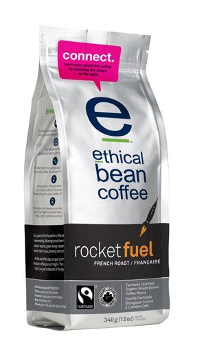 Ethical Bean Coffee Company Rocket Fuel French Roast 12Ounce Bags Pack of 2 * Read more  at the image link.