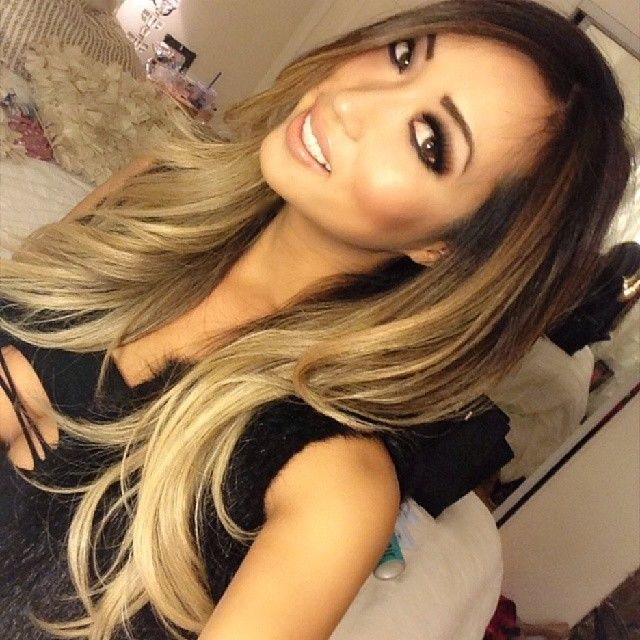 Guy Tang - Sexy you tuber Arika Sato got my signature high contrast blonde today. She just sent me this selfie and it's so beautiful I had to post it