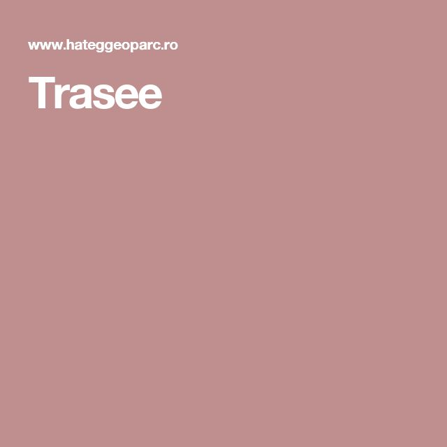 Trasee