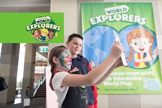 Woolworths Explorer Collectibles