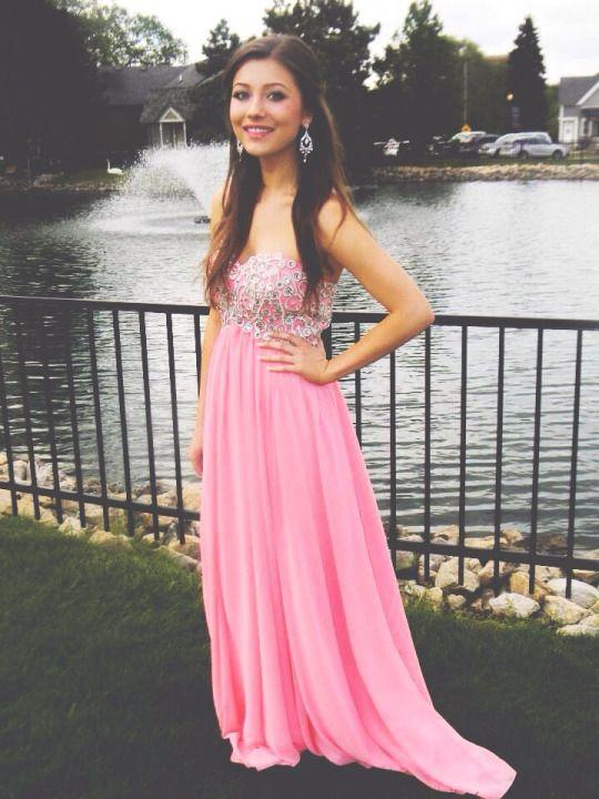 384 best PROM Dresses images on Pinterest | Formal dresses, Party ...