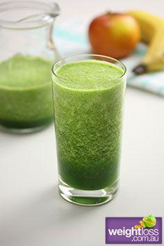 Sweet Green Smoothie . #HealthyRecipes #DietRecipes #WeightLossRecipes weightloss.com.au