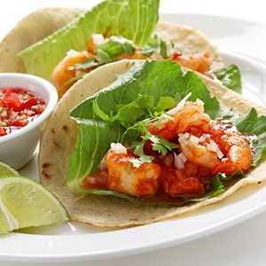 Mix things up on taco night by swapping beef and chicken for deliciously seared shrimp.