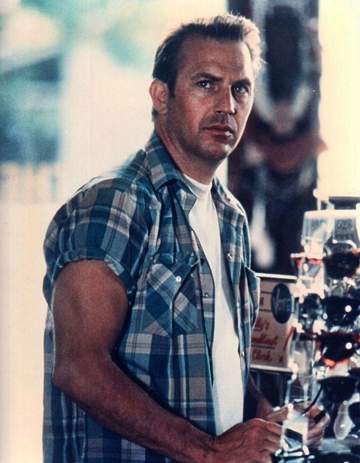 """Kevin Costner en """"Un mundo perfecto"""", 1993                                                                                                                                                      Más"""