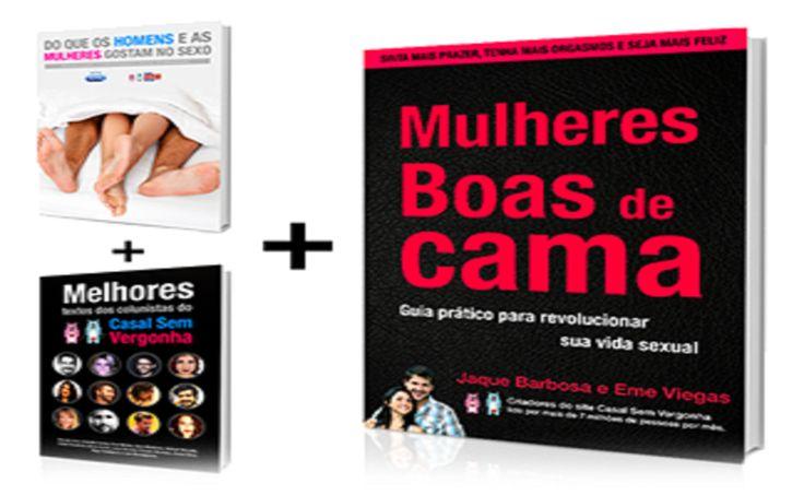 O E-Book Mulheres Boas De Cama é Um Guia Prático Para Revolucionar Sua Vida Sexual Escrito por Jaque Barbosa e Eme Viegas, Criadores do Site Casal Sem Vergonha, Que Já Alcançou Metade dos 100 Milhões de Internautas Brasileiros.