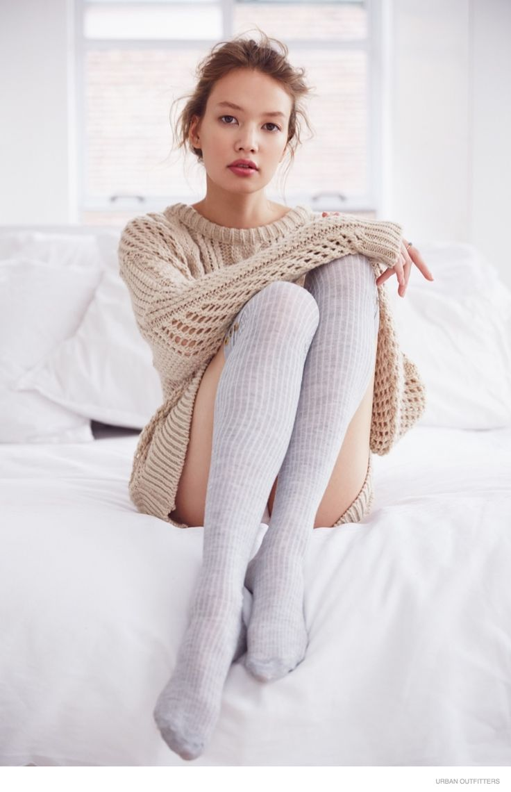 UO's Cozy Sweaters--With the cold weather, now is the perfect time to stock up on some cozy knitwear and intimates from Urban Outfitters. For its latest lo