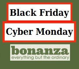 Bonanza.com - Black Friday / Cyber Monday  Participating Booths: http://www.bonanza.com/forums/12/topics/302517