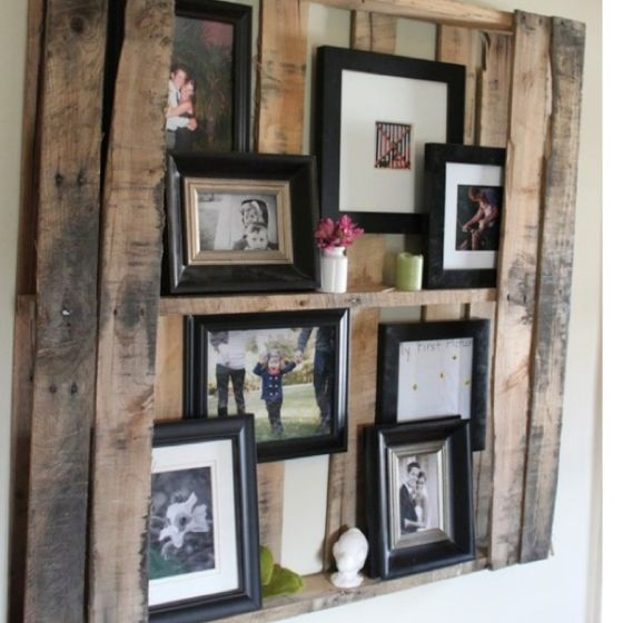 Made out of a wood palet?! We have a ton of those. I would like to do this is my sons room.