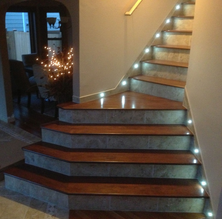 Lighting On Stairs: 1000+ Images About Stair Lighting On Pinterest