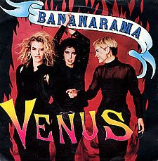 """For Sale - Bananarama Venus UK  7"""" vinyl single (7 inch record) - See this and 250,000 other rare & vintage vinyl records, singles, LPs & CDs at http://eil.com"""