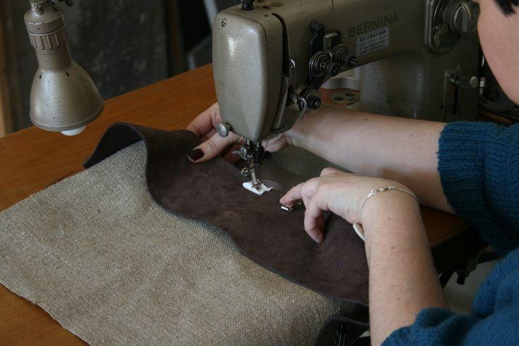 Comment coudre le cuir à la machine ?