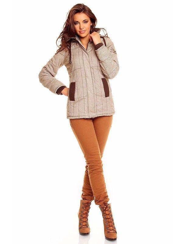 Abrigo corto quilted Fres Made | marrón claro http://www.stockmagasin.com/magento/fresh-made-urbanwear/15026-abrigo-corto-quilted-fres-made-marron-claro.html