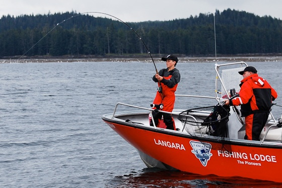 Salmon Fishing Report: August 27, 2012 | Langara Island, BC