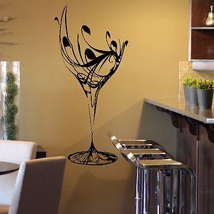 Wall art decor sticker design kitchen m1 kitchen walls wall decor