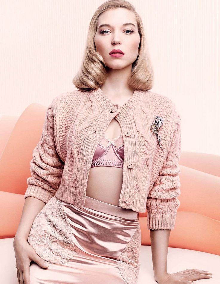 Lea Seydoux for Vogue UK, November 2015