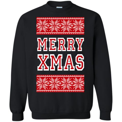 Red Ugly Christmas Sweaters For Men