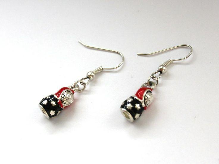 Kolczyki Matrioszki w Especially for You! na http://pl.dawanda.com/shop/slicznieilirycznie  #kolczyki #earrings  #handmade #DaWanda #matrioszki #russiandolls