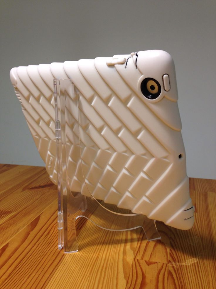 Clear Acrylic Plate Stand works as IPad holder for iPads with a bulky cover. This & 55 best Phone/ipad holder images on Pinterest | Ipad holder Ipad ...