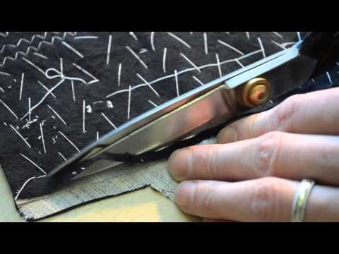▶ The Making of a Coat #12 Canvassing the Foreparts - YouTube