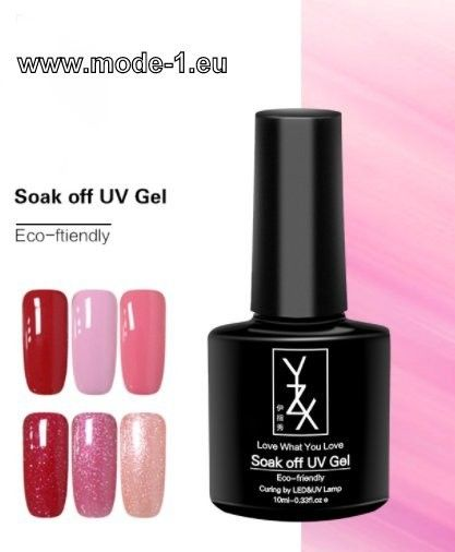 Fancy UV Gel Lack Rosa Rot in Farben