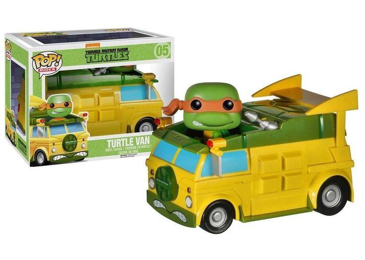 Teenage Mutant Ninja Turtles : Turtle Van Vinyl Figure