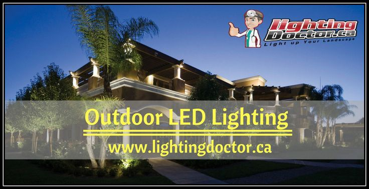 Whatever your outdoor lighting needs, whether security or ambient, outdoor LED lighting always has something to offer to make your outdoor space well lit during the night. #LEDLighting #LightingDoctor #OutdoorLighting #SaveEnergy #Calgary #ALberta #Canada www.lightingdoctor.ca